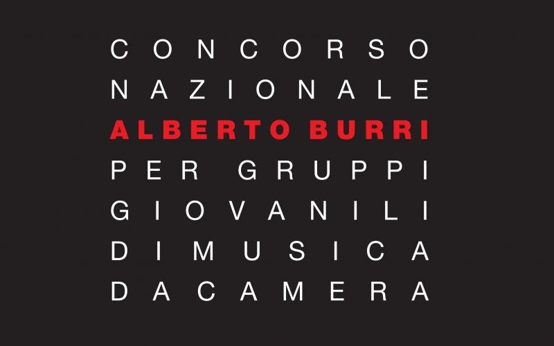 Concorso nazionale Alberto Burri per gruppi giovanili di musica da camera