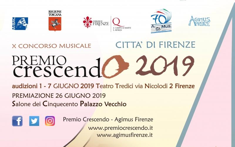 Concorso Internazionale Premio Crescendo  - Città di Firenze