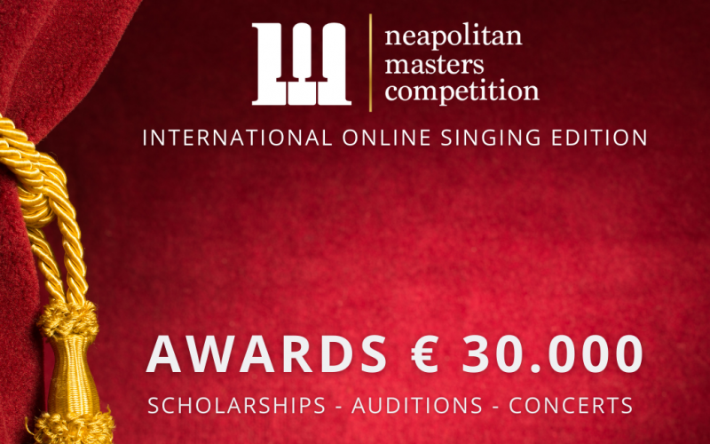 Neapolitan Masters Competition - International Online Singing Competition