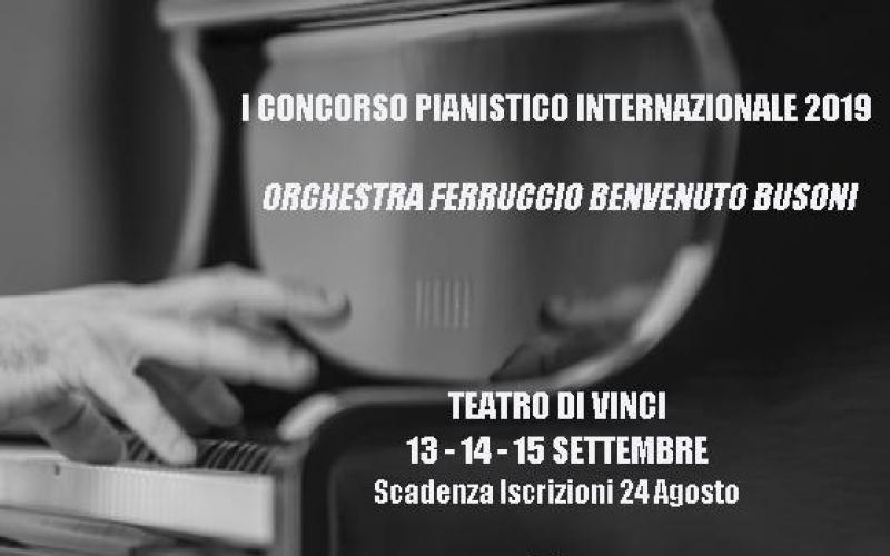 I CONCORSO PIANISTICO INTERNAZIONALE 2019 ORCHESTRA FERRUCCIO BENVENUTO BUSONI