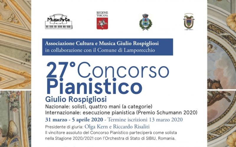 27° Concorso Pianistico