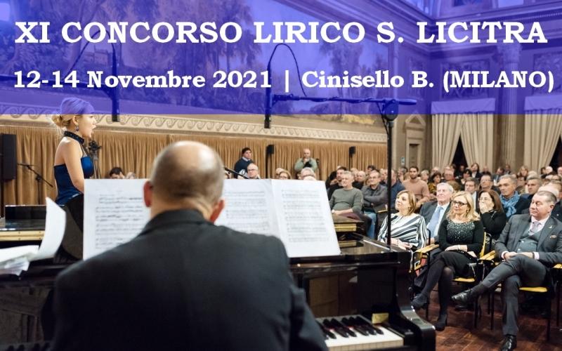 Concorso Lirico Salvatore Licitra XI edizione