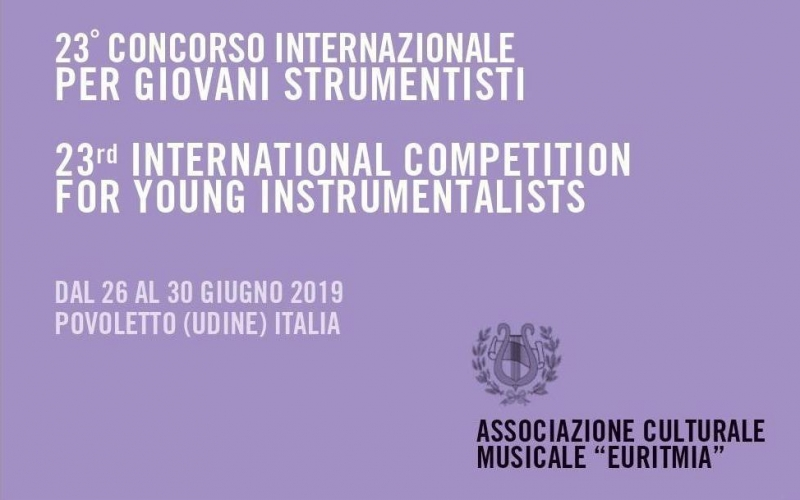 23° Concorso internazionale giovani strumentisti