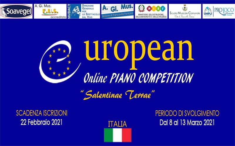 1° Concorso Pianistico Europeo Online