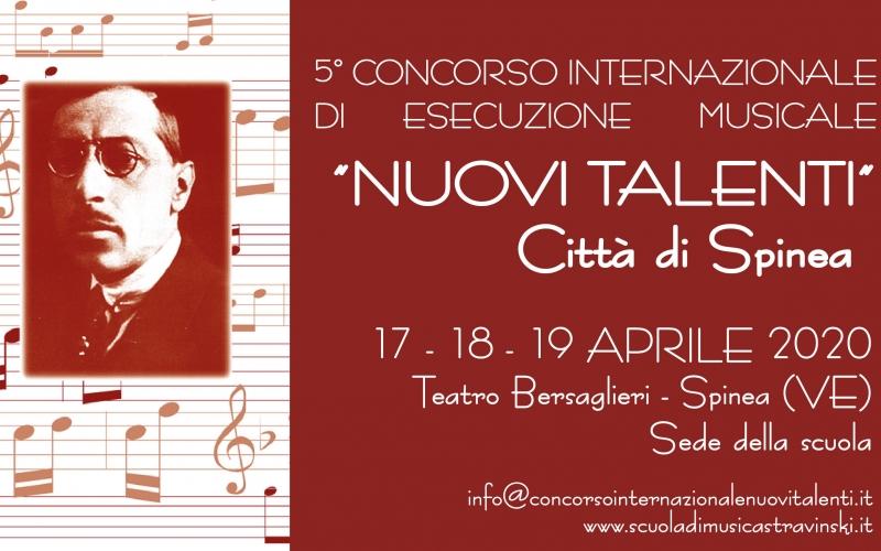 5°CONCORSO INTERNAZIONALE DI ESECUZIONE MUSICALE