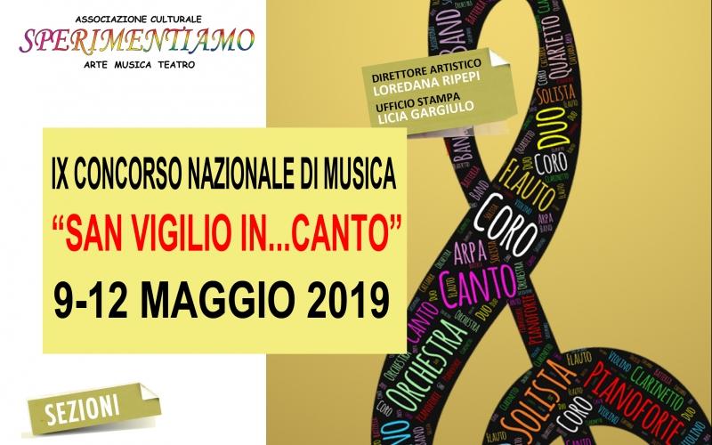 IX Concorso Nazionale di Musica