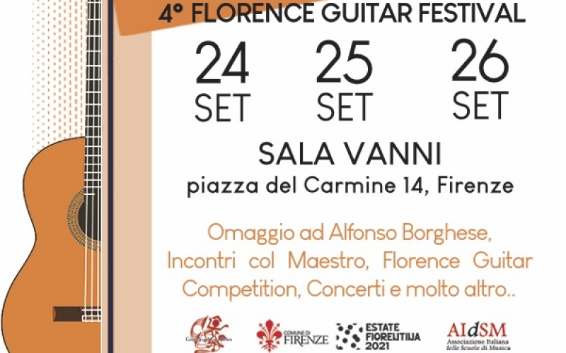 Florence Guitar Competition 2021