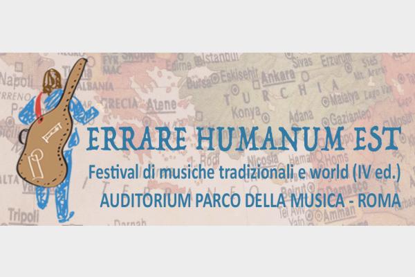 Festival di musiche tradizionali e world (V ed.) Auditorium Parco della Musica di Roma