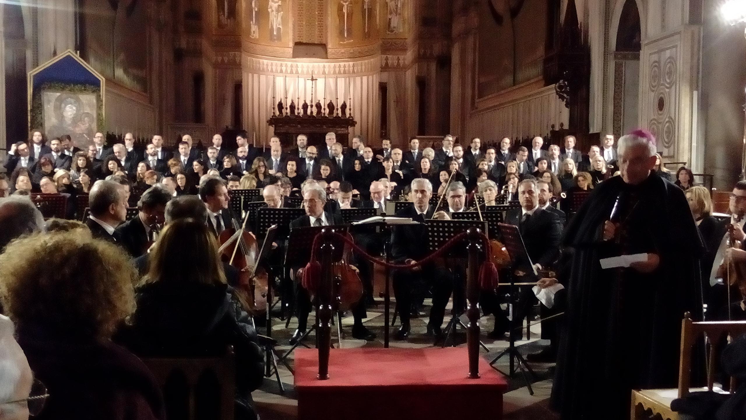 L'Orchestra Sinfonica Siciliana a Monreale