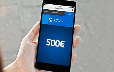 Dal 7 gennaio è possibile usufruire di 500 euro disponibili per i giovani diciottenni